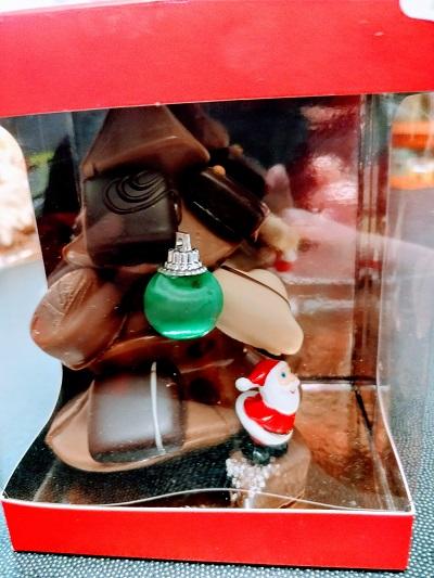 Le sapin en chocolat artisanal