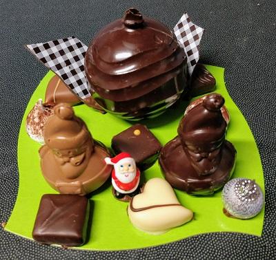 Sujet chocolat artisanal